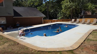 Added in ground pool to backyard