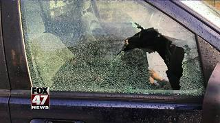 Police arrest suspects for shooting marbles into windows - Video