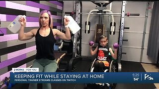 Mindful Moment with Mike: Keeping Fit While Staying at Home