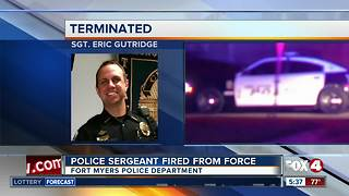FMPD officer fired for lying under oath - Video