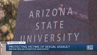 ASU students push to protect victims of sexual assault