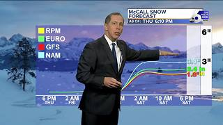 Treasure Valley Snow is on the Way - Video