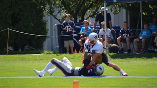 Julian Edelman KICKED OUT of Patriots Practice for Fighting - Video