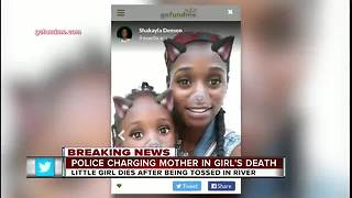 Mother charged with murder after allegedly tossing 4-year-old daughter into Hillsborough River - Video