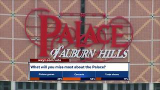 Final event at The Palace is Saturday - Video