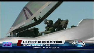 Tucson could still be the landing spot for F-35s - Video