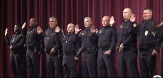 New officers join the Palm Beach County School