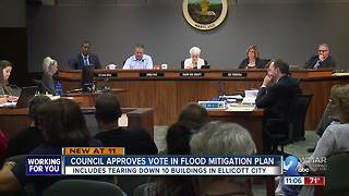 Council approves $50 million flood prevention proposal for Ellicott City