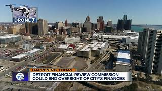 Detroit Financial Review Commission could end state financial oversight - Video