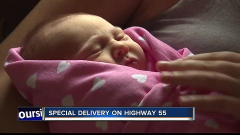 Baby born on side of Highway 55 with help of Boise County Deputy