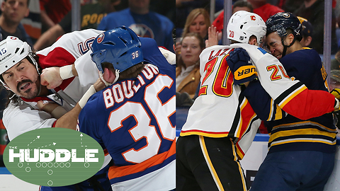 Canada Wants to BAN Fights In Hockey!: Is This A Stupid Move? | Huddle