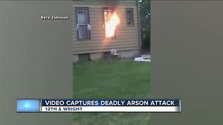 Video captures deadly arson attack