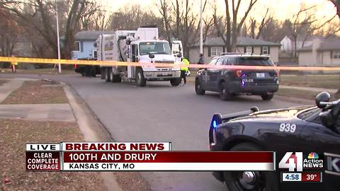Garbage truck hits, kills 8-year-old boy in KCMO