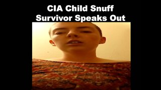 CIA Child Snuff Survivor Speaks Out