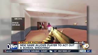 School shooting video game? - Video