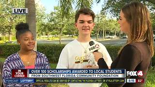 Southwest Florida Community Foundation awards 135 scholarships to local students - 8am live report - Video
