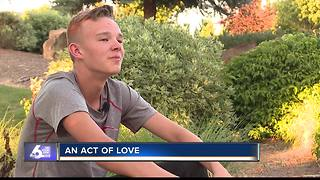 Nampa teen raises puppy to become assistance dog to help others - Video