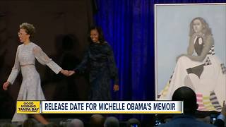 Michelle Obama to release memoir in November - Video