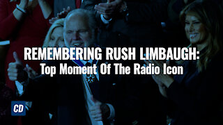 REMEMBERING RUSH LIMBAUGH: Top Moment Of The Radio Icon