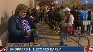 Holiday Shopping Starts Early in Nashville - Video