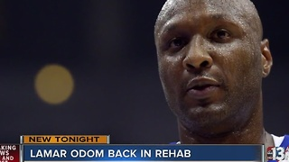 Report: Lamar Odom back in rehab - Video