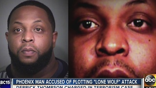 Phoenix man tried to plan a lone wolf attack in Arizona - Video