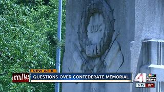 Some calling for the removal of Confederate memorial