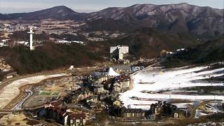 Breathing-taking scenes from Pyeongchang - Video
