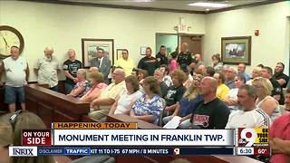 Question over who owns Confederate plaque -- city or township -- prompts more discussion in Franklin - Video