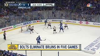 Lightning advance to Eastern Conference Finals - Video
