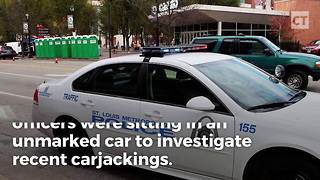 Man  Tries to Carjack Cops - Video