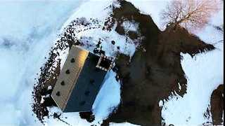 Skilled Pilot Flies Drone Through Chimney - Video