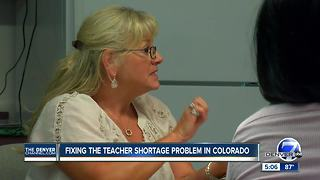 Colorado teacher shortage edges crisis in rural towns - Video