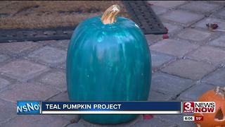 Teal pumpkin making Halloween safe - Video