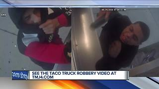 Milwaukee police looking for suspects in taco truck robberies