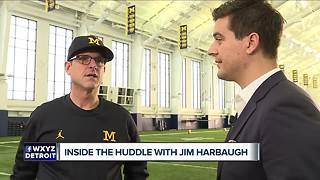 Jim Harbaugh hopes Brandon Peters returns against Ohio State - Video