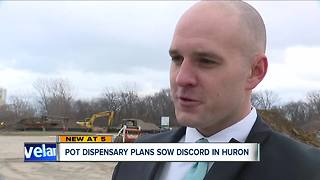 Some Huron residents concerned about possible medical marijuana dispensary near school - Video