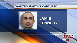 Wanted fugitive caught