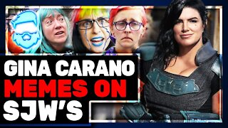 Gina Carano MOCKS Far Left & SJW's Again DEMAND Star Wars The Mandalorian Fire Her!