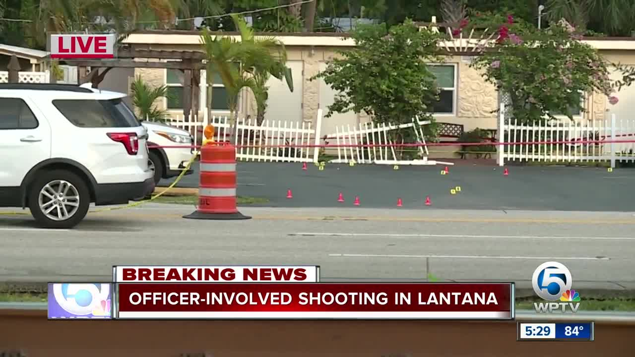Officer-involved shooting in Lantana