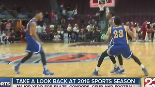 2016 year in review for local sports - Video