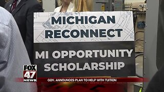 Gov. announces plan to help with tuition
