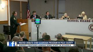 Heated debate over guardian program in Polk County - Video