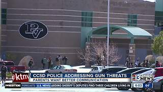 School district police address rash of threats and gun incidents - Video