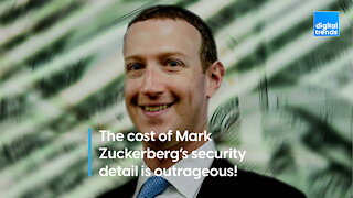 The cost of Mark Zuckerberg's security detail is outrageous!