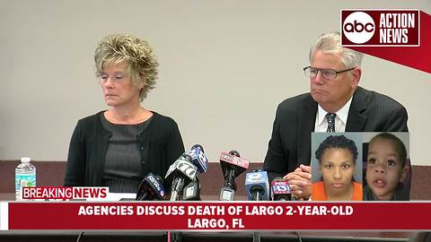 Agencies discuss death of Largo 2-year-old