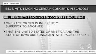 Iowa bill limits diversity training & teaching certain concepts about race and sex