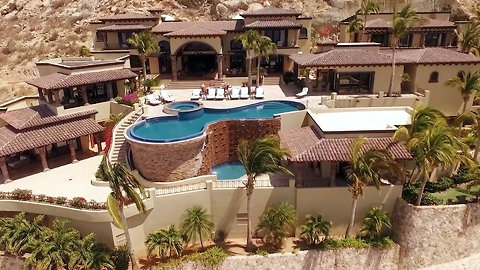 This Incredible, Private Luxury Home in Los Cabos, Mexico Overlooks the Sea of Cortez