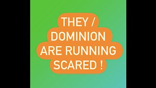 Dominion Is Running SCARED! Issues Cease + Desist Against Witnesses!