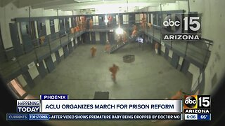 March planned to demand change at Arizona prison